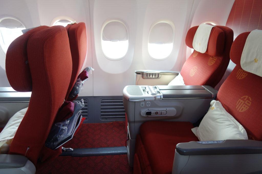 Бизнес-класс Hainan Airlines (Boeing 737) в 5 фотографиях