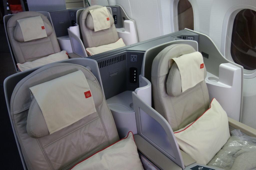 Бизнес-класс Royal Jordanian (Boeing 787-8) в 5 фотографиях