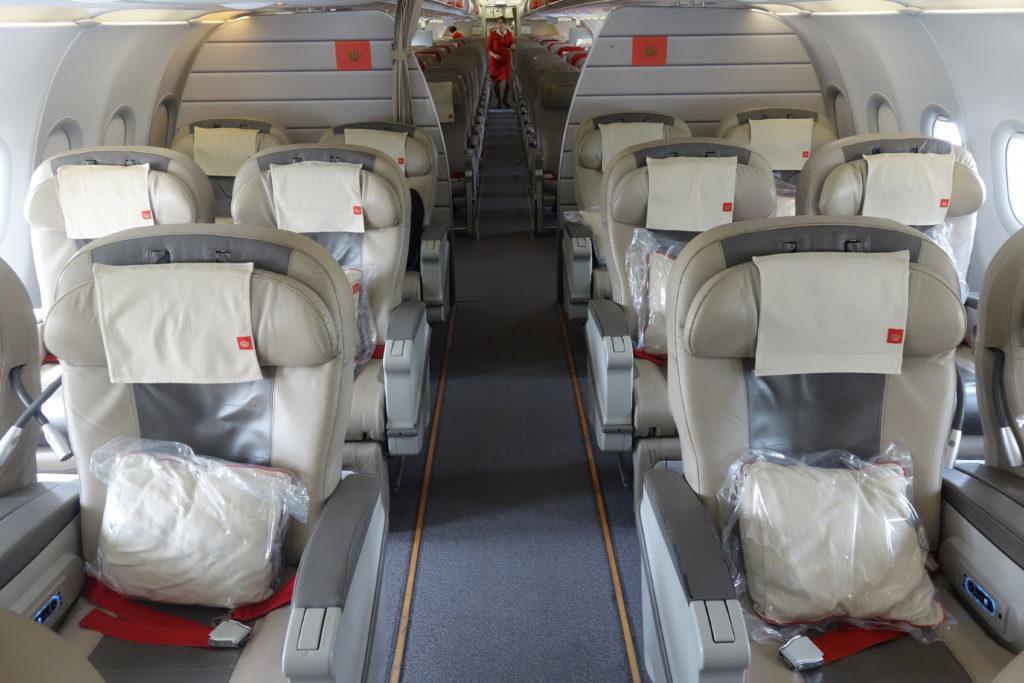 Бизнес-класс Royal Jordanian (A321) в 5 фотографиях