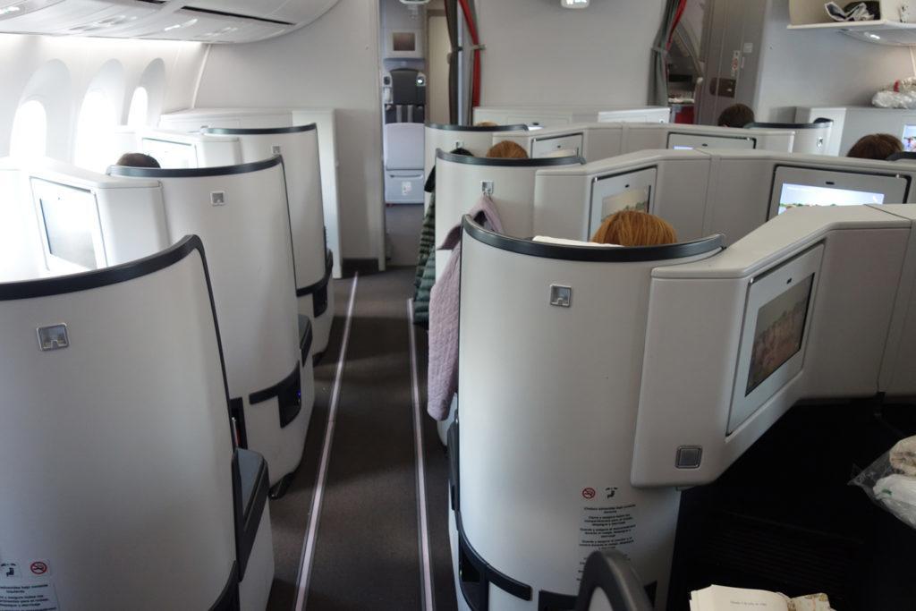 Обзор: Avianca, бизнес-класс (Boeing 787), Мадрид – Богота