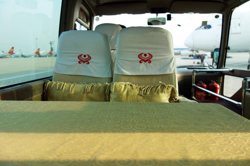 Обзор: Hainan Airlines HNA Club, Пекин